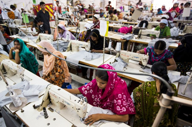 Inside A Garment Factory As Government Plans To Constitute Panel To Identify Structural Safety Of Garment Factories.