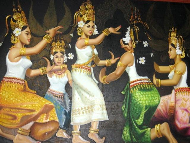 02-Apsara painting
