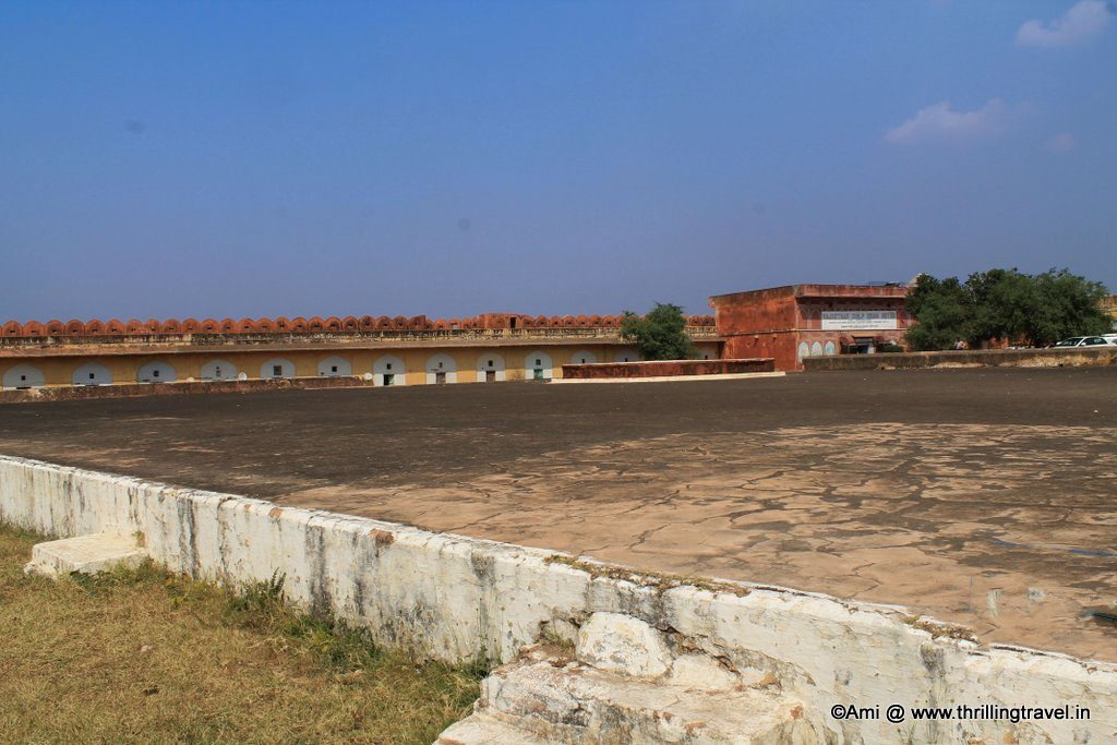 Jaigarh fort water tank