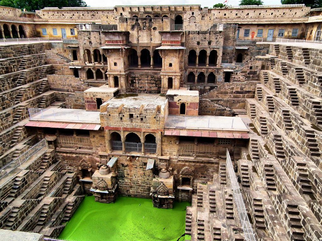 Stairwells of rajasthan